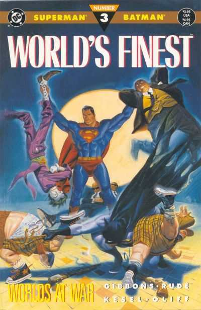 World's Finest #3 comic books - cover scans photos World's Finest #3 comic books - covers, picture gallery
