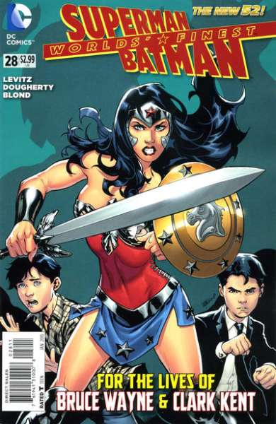 Worlds' Finest #28 comic books for sale