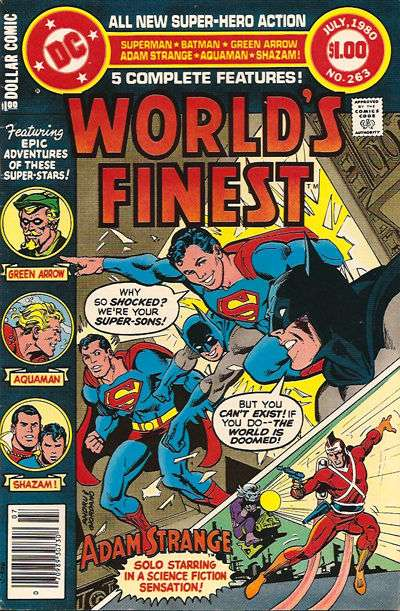 World's Finest Comics #263 comic books for sale
