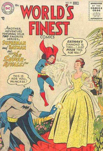 World's Finest Comics #85 comic books for sale