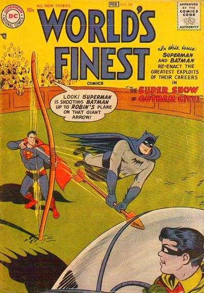 World's Finest Comics #86 comic books for sale