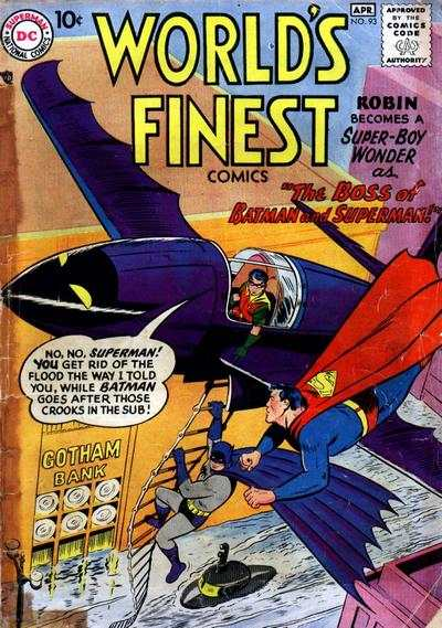 World's Finest Comics #93 comic books for sale
