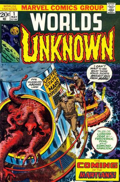 Worlds Unknown comic books