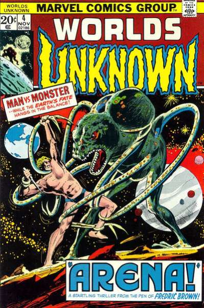 Worlds Unknown #4 comic books for sale