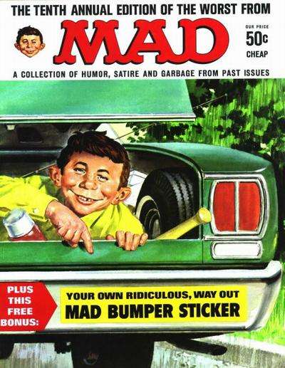 Worst From Mad #10 comic books for sale