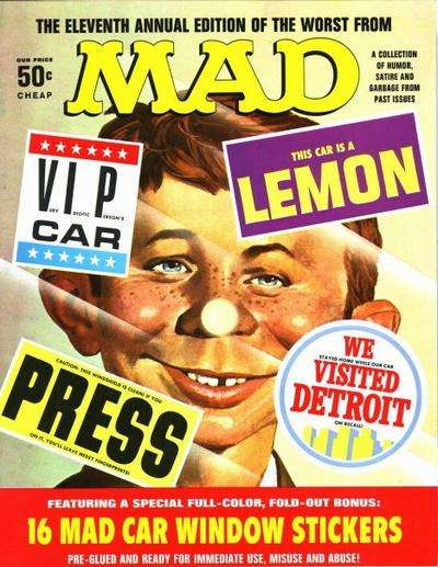 Worst From Mad #11 comic books for sale