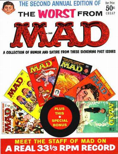 Worst From Mad #2 comic books for sale