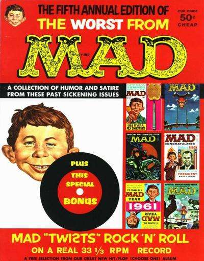 Worst From Mad #5 comic books for sale