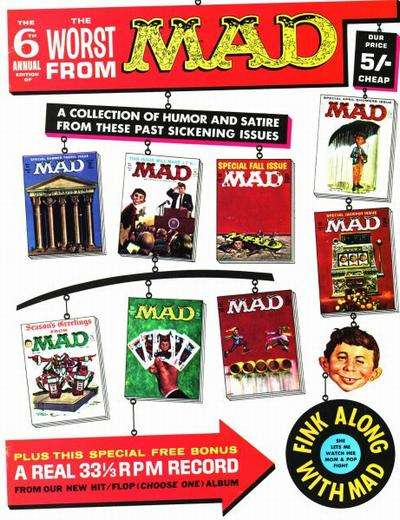 Worst From Mad #6 comic books for sale