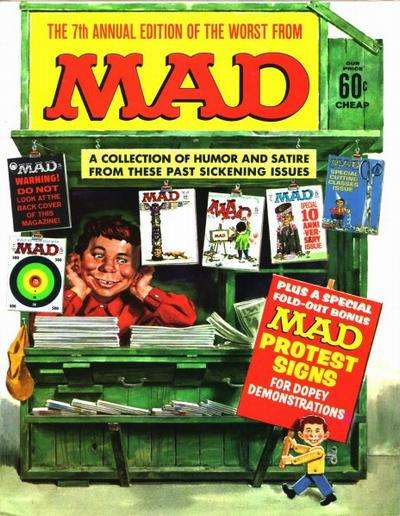 Worst From Mad #7 comic books for sale