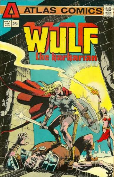 Wulf the Barbarian #1 comic books for sale