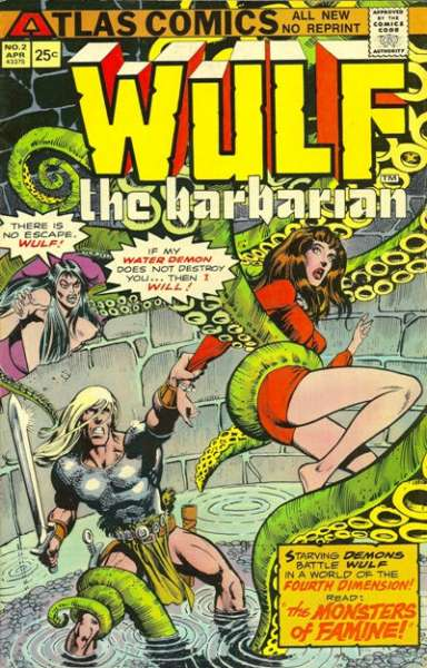 Wulf the Barbarian #2 Comic Books - Covers, Scans, Photos  in Wulf the Barbarian Comic Books - Covers, Scans, Gallery