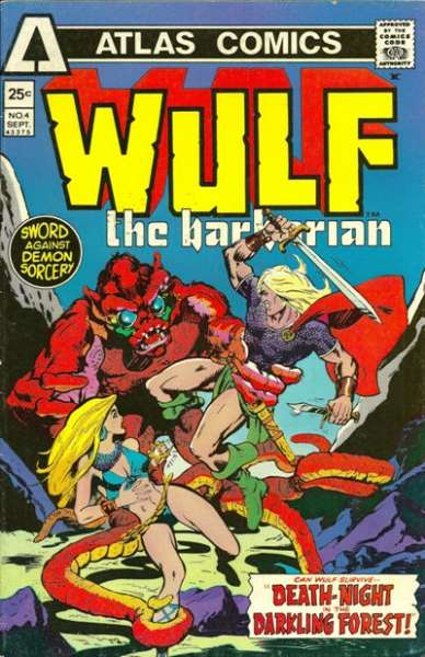 Wulf the Barbarian #4 Comic Books - Covers, Scans, Photos  in Wulf the Barbarian Comic Books - Covers, Scans, Gallery