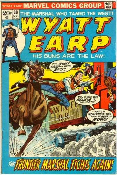 Wyatt Earp #30 comic books for sale