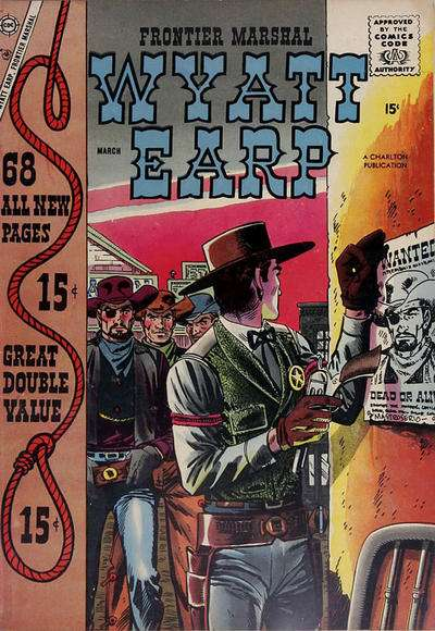 Wyatt Earp Frontier Marshal #20 comic books - cover scans photos Wyatt Earp Frontier Marshal #20 comic books - covers, picture gallery