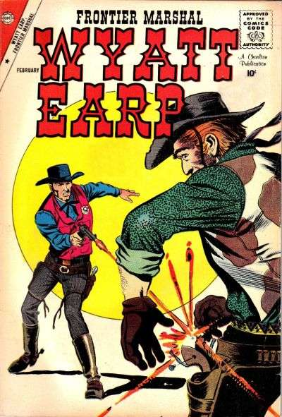 Wyatt Earp Frontier Marshal #23 Comic Books - Covers, Scans, Photos  in Wyatt Earp Frontier Marshal Comic Books - Covers, Scans, Gallery