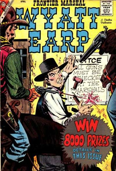 Wyatt Earp Frontier Marshal #24 Comic Books - Covers, Scans, Photos  in Wyatt Earp Frontier Marshal Comic Books - Covers, Scans, Gallery