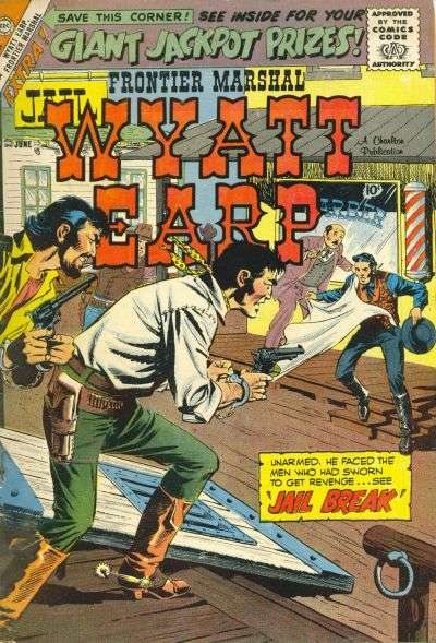 Wyatt Earp Frontier Marshal #25 Comic Books - Covers, Scans, Photos  in Wyatt Earp Frontier Marshal Comic Books - Covers, Scans, Gallery