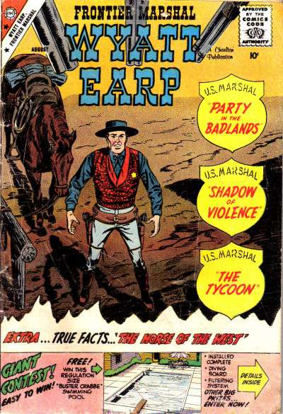 Wyatt Earp Frontier Marshal #26 Comic Books - Covers, Scans, Photos  in Wyatt Earp Frontier Marshal Comic Books - Covers, Scans, Gallery