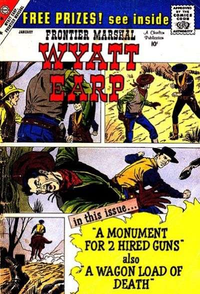 Wyatt Earp Frontier Marshal #28 Comic Books - Covers, Scans, Photos  in Wyatt Earp Frontier Marshal Comic Books - Covers, Scans, Gallery