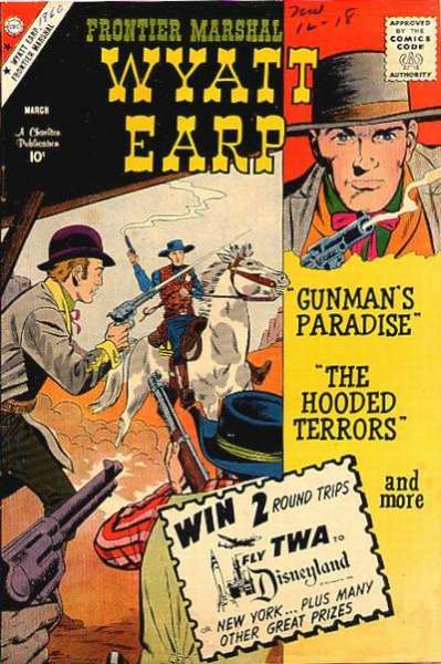 Wyatt Earp Frontier Marshal #29 Comic Books - Covers, Scans, Photos  in Wyatt Earp Frontier Marshal Comic Books - Covers, Scans, Gallery