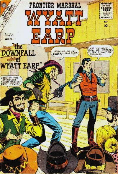 Wyatt Earp Frontier Marshal #30 Comic Books - Covers, Scans, Photos  in Wyatt Earp Frontier Marshal Comic Books - Covers, Scans, Gallery