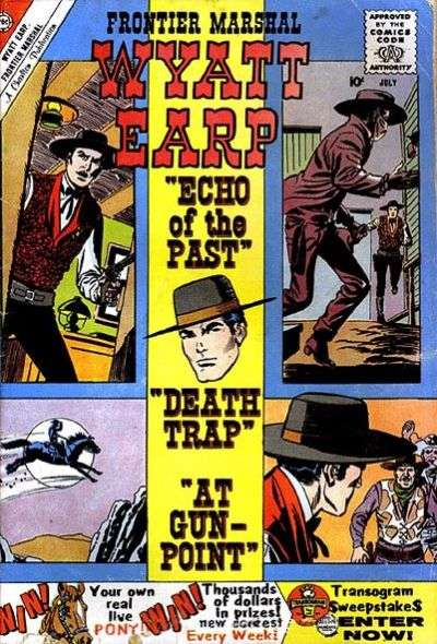 Wyatt Earp Frontier Marshal #31 Comic Books - Covers, Scans, Photos  in Wyatt Earp Frontier Marshal Comic Books - Covers, Scans, Gallery