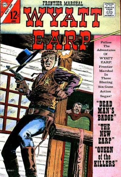 Wyatt Earp Frontier Marshal #69 comic books - cover scans photos Wyatt Earp Frontier Marshal #69 comic books - covers, picture gallery