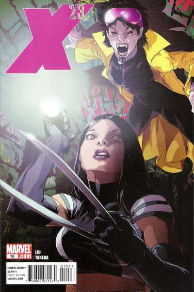 X-23 #10 comic books - cover scans photos X-23 #10 comic books - covers, picture gallery