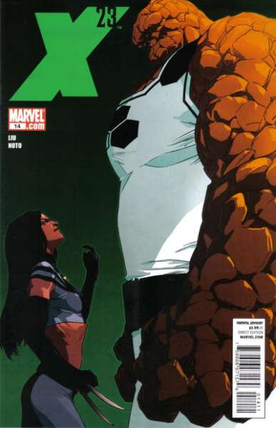 X-23 #14 comic books - cover scans photos X-23 #14 comic books - covers, picture gallery