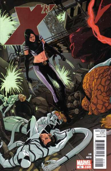 X-23 #15 Comic Books - Covers, Scans, Photos  in X-23 Comic Books - Covers, Scans, Gallery