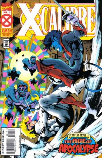 X-Calibre #1 comic books for sale