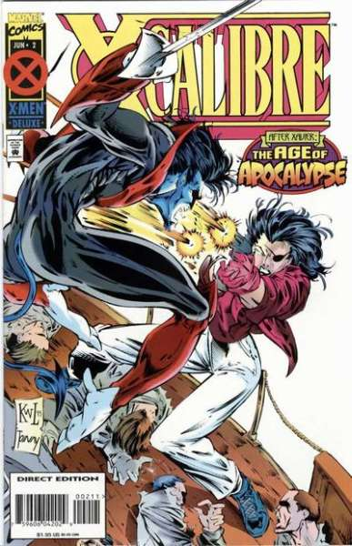X-Calibre #2 comic books for sale