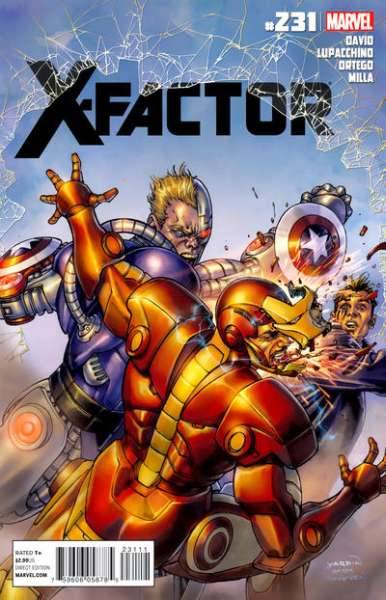 X-Factor #231 Comic Books - Covers, Scans, Photos  in X-Factor Comic Books - Covers, Scans, Gallery