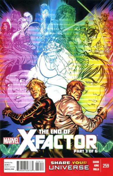 X-Factor #259 Comic Books - Covers, Scans, Photos  in X-Factor Comic Books - Covers, Scans, Gallery
