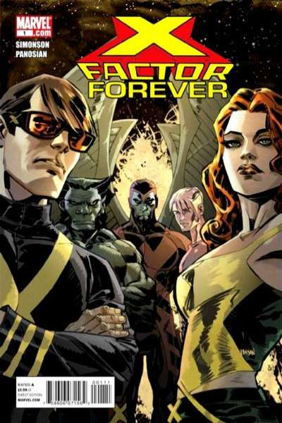 X-Factor Forever #1 comic books - cover scans photos X-Factor Forever #1 comic books - covers, picture gallery