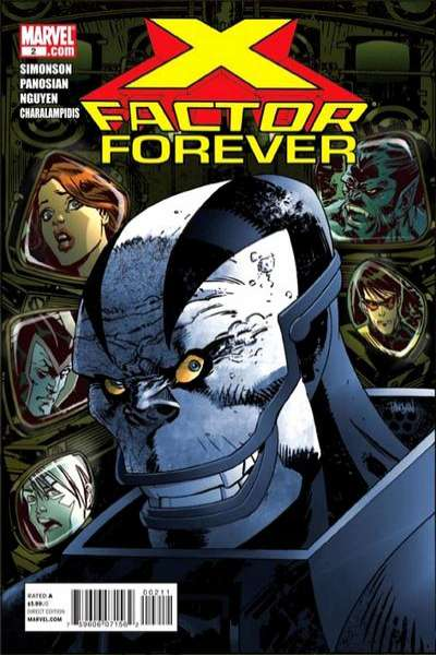 X-Factor Forever #2 comic books - cover scans photos X-Factor Forever #2 comic books - covers, picture gallery