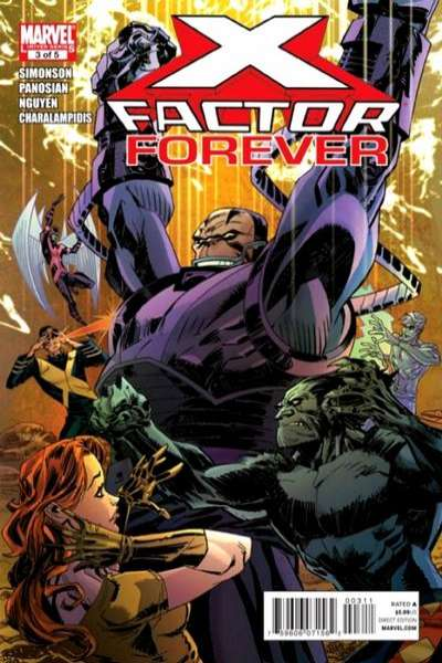 X-Factor Forever #3 comic books - cover scans photos X-Factor Forever #3 comic books - covers, picture gallery