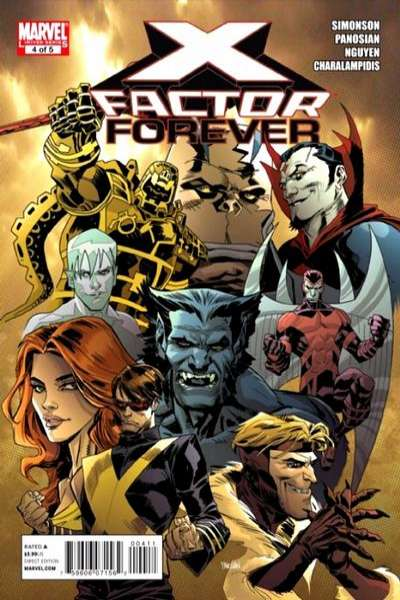 X-Factor Forever #4 comic books - cover scans photos X-Factor Forever #4 comic books - covers, picture gallery
