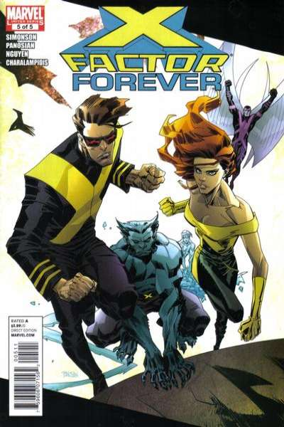 X-Factor Forever #5 comic books - cover scans photos X-Factor Forever #5 comic books - covers, picture gallery