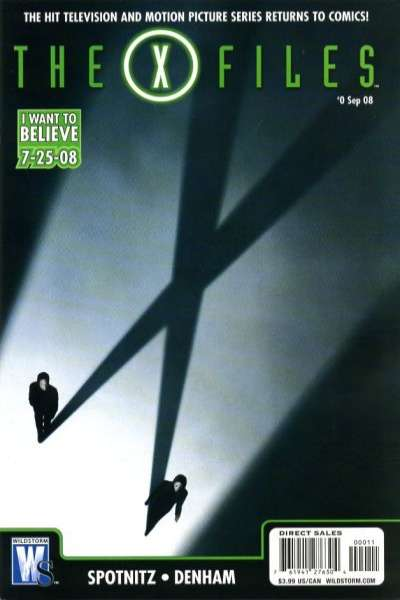 X-Files #1 comic books - cover scans photos X-Files #1 comic books - covers, picture gallery