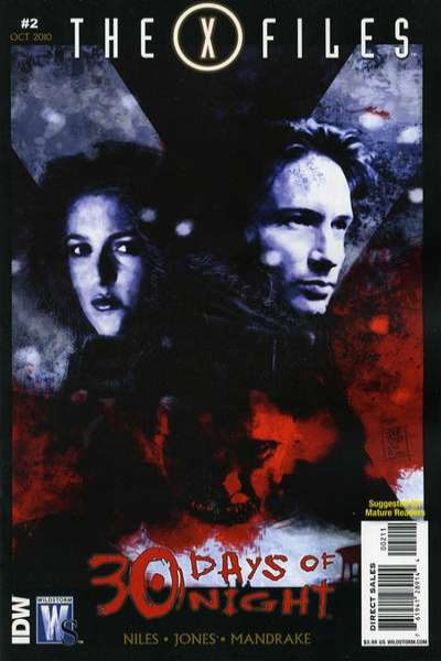 X-Files/30 Days of Night #2 Comic Books - Covers, Scans, Photos  in X-Files/30 Days of Night Comic Books - Covers, Scans, Gallery