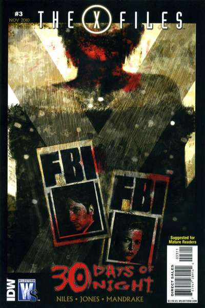 X-Files/30 Days of Night #3 Comic Books - Covers, Scans, Photos  in X-Files/30 Days of Night Comic Books - Covers, Scans, Gallery
