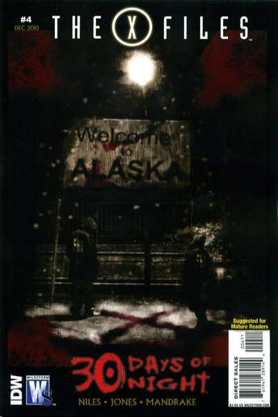X-Files/30 Days of Night #4 Comic Books - Covers, Scans, Photos  in X-Files/30 Days of Night Comic Books - Covers, Scans, Gallery