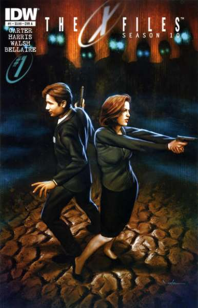 X-Files: Season 10 comic books