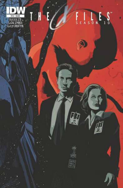 X-Files: Season 10 #16 comic books for sale