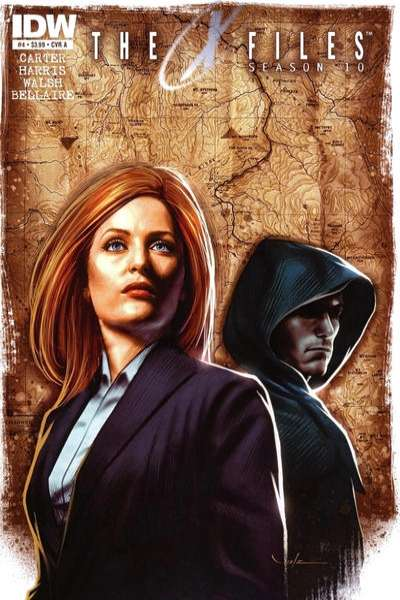 X-Files: Season 10 #4 comic books for sale