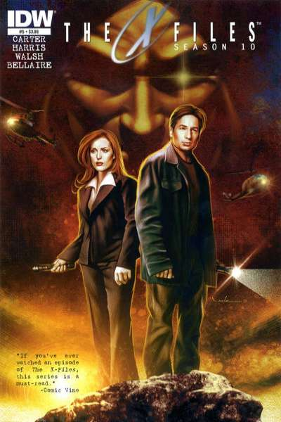 X-Files: Season 10 #5 comic books for sale