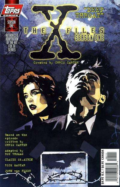 X-Files: Season One: Deep Throat #1 comic books for sale