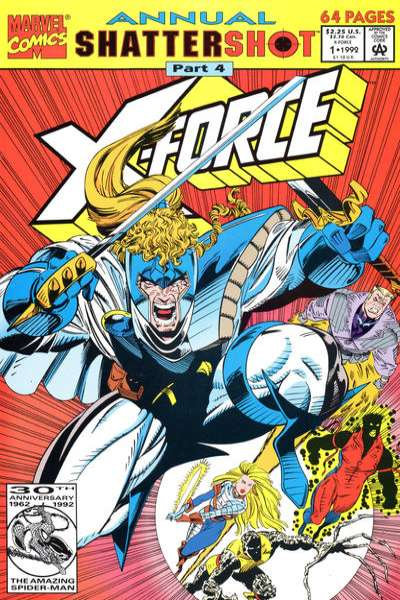 X-Force #1 comic books - cover scans photos X-Force #1 comic books - covers, picture gallery